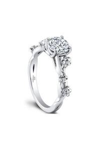 Engagement Ring Trends for 2015 Floral Details