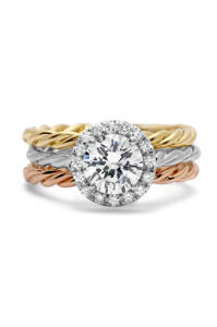 Engagement Ring Trends for 2015 Mixed Metals