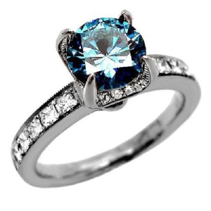 Engagement Ring Trends 2016 Coloured Diamonds