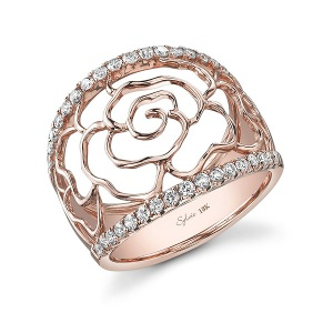 Engagement Ring Trends 2016 Floral Accents