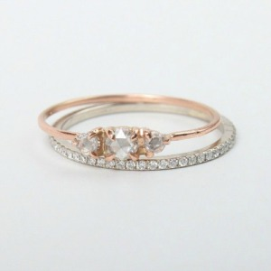 Engagement Wedding Ring Mix & Match Pairing