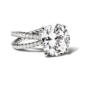 Round Cut Engagement Rings 1