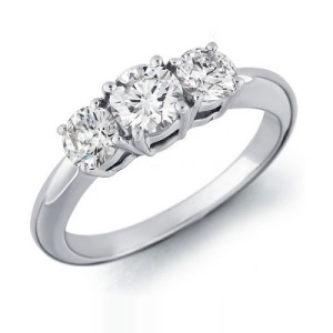 Three Stone Engagement Ring 1
