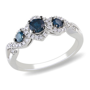 Three Stone Engagement Ring 2