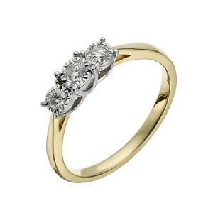 Three Stone Engagement Ring 3