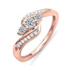 Three Stone Engagement Ring 6