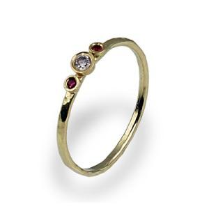 Three Stone Engagement Ring 7