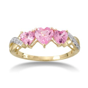 Heart Shaped Engagement Ring 2