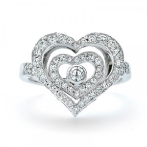 Heart Shaped Engagement Ring 5