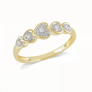 Heart Shaped Engagement Ring 7