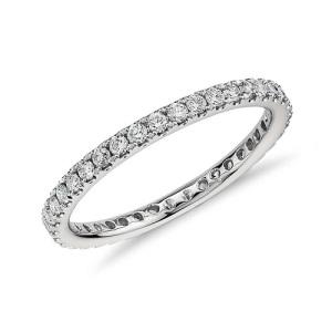 Exquisite Platinum Engagement Rings - Eternity