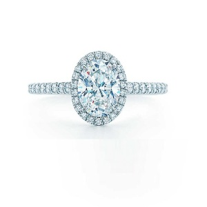 Incredible Oval Engagement Rings to Inspire - Pave