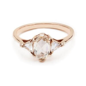 Incredible Oval Engagement Rings to Inspire - Three Stone