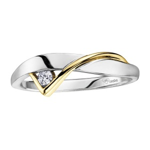 Dreamy Two Tone Engagement Rings - Modern