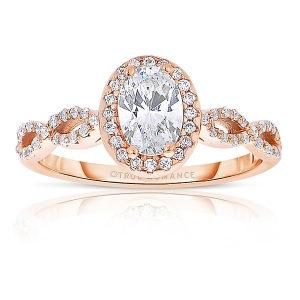 Dreamy Infinity Engagement Rings - Halo