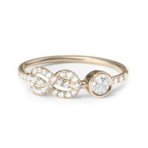 Dreamy Infinity Engagement Rings - Knot