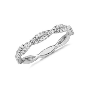 Get Inspired by These Delicate Engagement Rings - Pave Twist