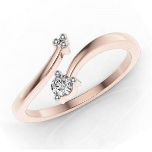 Exquisite Asymmetrical Engagement Rings - Modern Twist