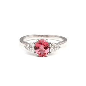 Tantalising Tourmaline Engagement Rings - Three Stone