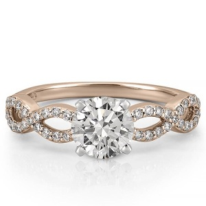 8 Engagement Rings for the Romantic at Heart - Pave Infinity