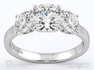 8 Engagement Rings for the Romantic at Heart - Three Stone