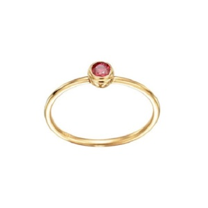 Romantic Ruby Engagement Rings - Simple Solitaire