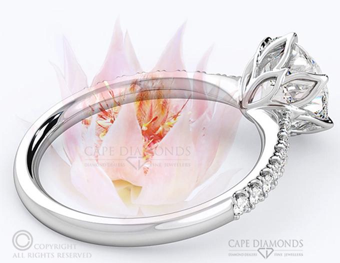 Blushing Bride Engagement Ring
