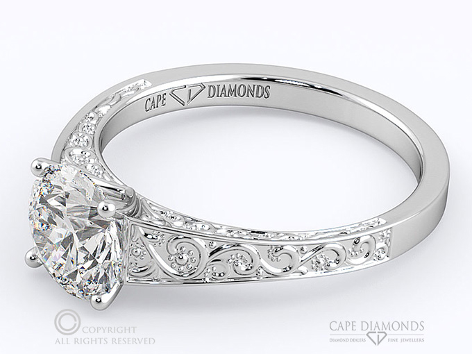 Adding Profile Detail on Your Engagement Ring