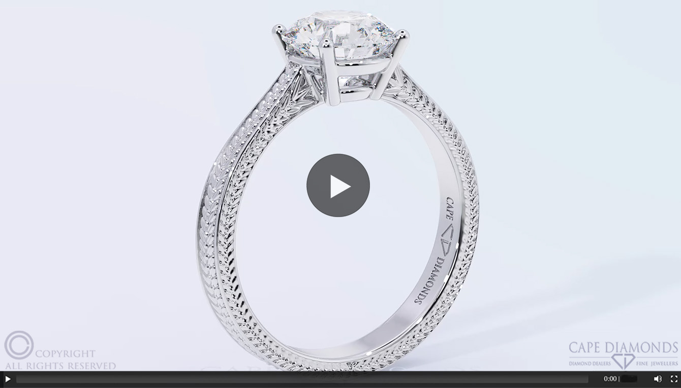 ring products engagement detail milgrain kaplan channel diamond eternity arthur baguette detailed white gold rings cut