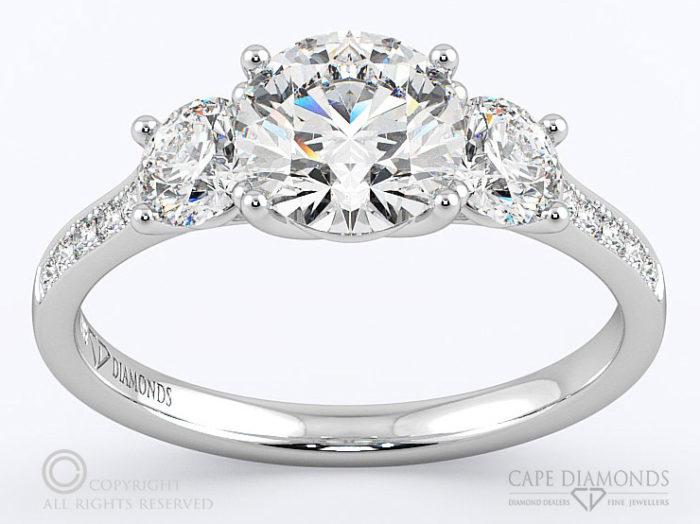 Platinum Engagement Wedding Ring Collection Cape Diamonds